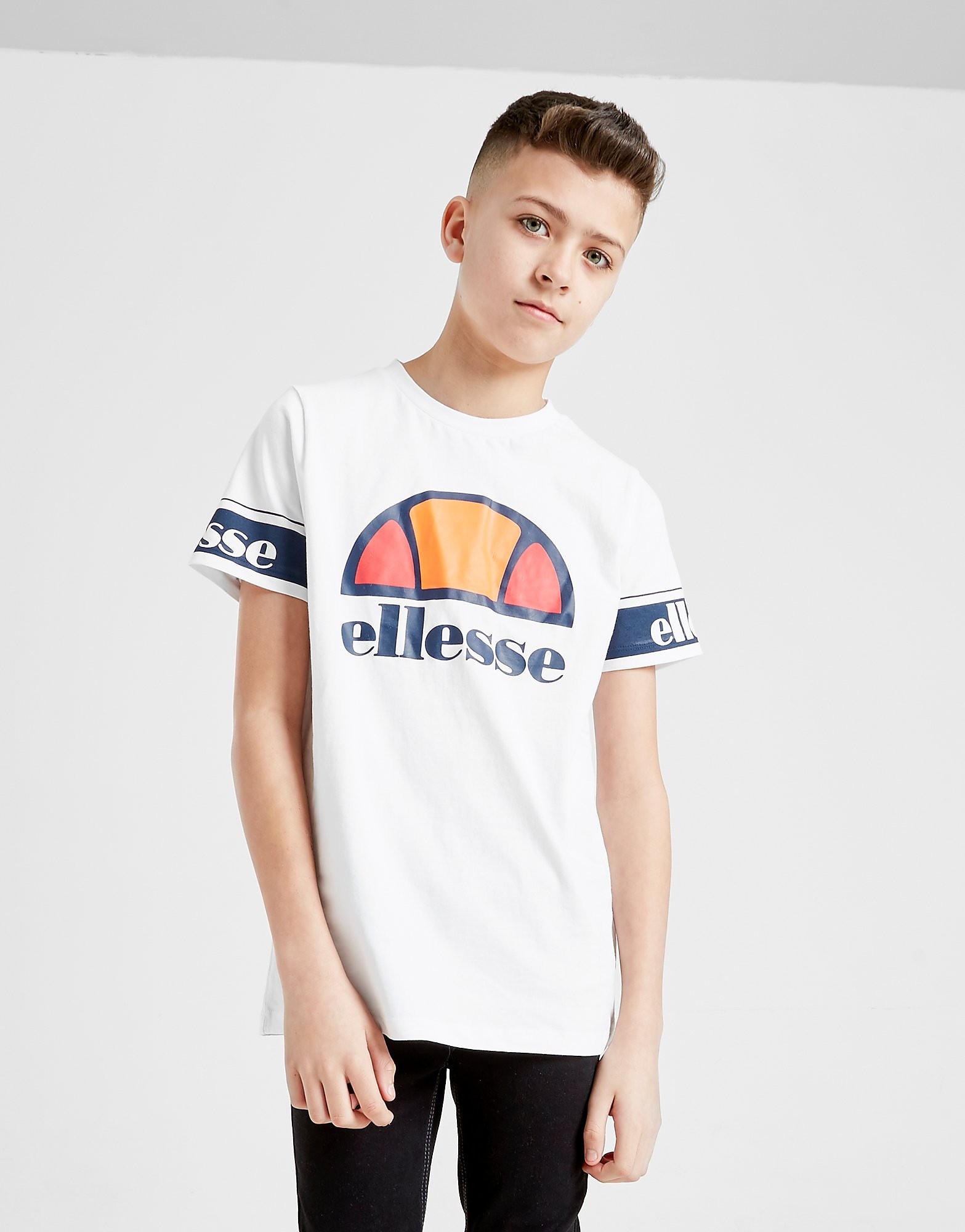 Ellesse Cestia Logo T-Shirt Junior Wit Kind