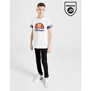 sale retailer 91d00 682a7 ... Ellesse Cestia Logo T-Shirt Junior