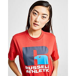 ... Russell Athletic Eagle Logo Crop T-Shirt 57d037932