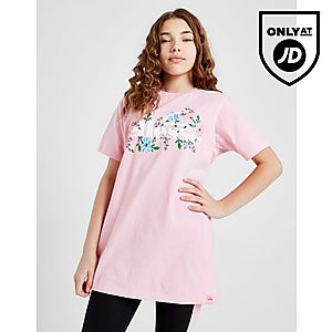 eca1e64fc3a7 Ellesse Girls  Boyfriend Floral T-Shirt Junior ...