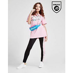 b2bcabcc872 ... Ellesse Girls  Boyfriend Floral T-Shirt Junior