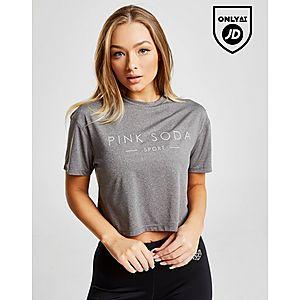 deeac81316c Pink Soda Sport Core Mesh Crop T-Shirt ...