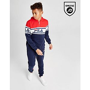 64675c5a5c23 ... Fila Clyde 1 4 Zip French Terry Hoodie Junior