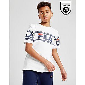 74e9b3d245924 Fila Danni Logo T-Shirt Junior ...