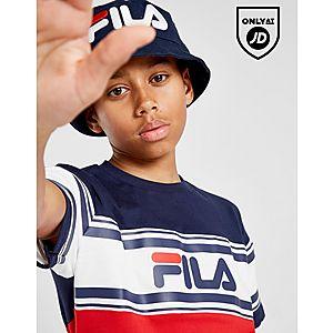 f5b8f4899a06c Fila Mally Colour Block T-Shirt Junior ...