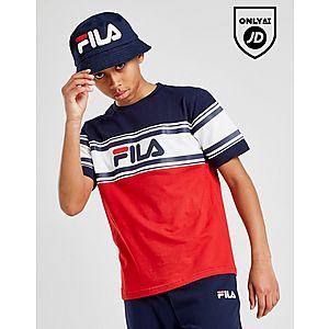 b38beb29d284d ... Fila Mally Colour Block T-Shirt Junior
