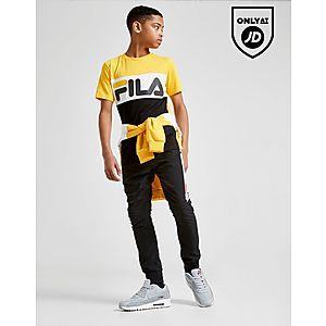943f1646b7979 Fila Mick Colour Block T-Shirt Junior ...