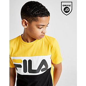 305de771e0ac4 ... Fila Mick Colour Block T-Shirt Junior