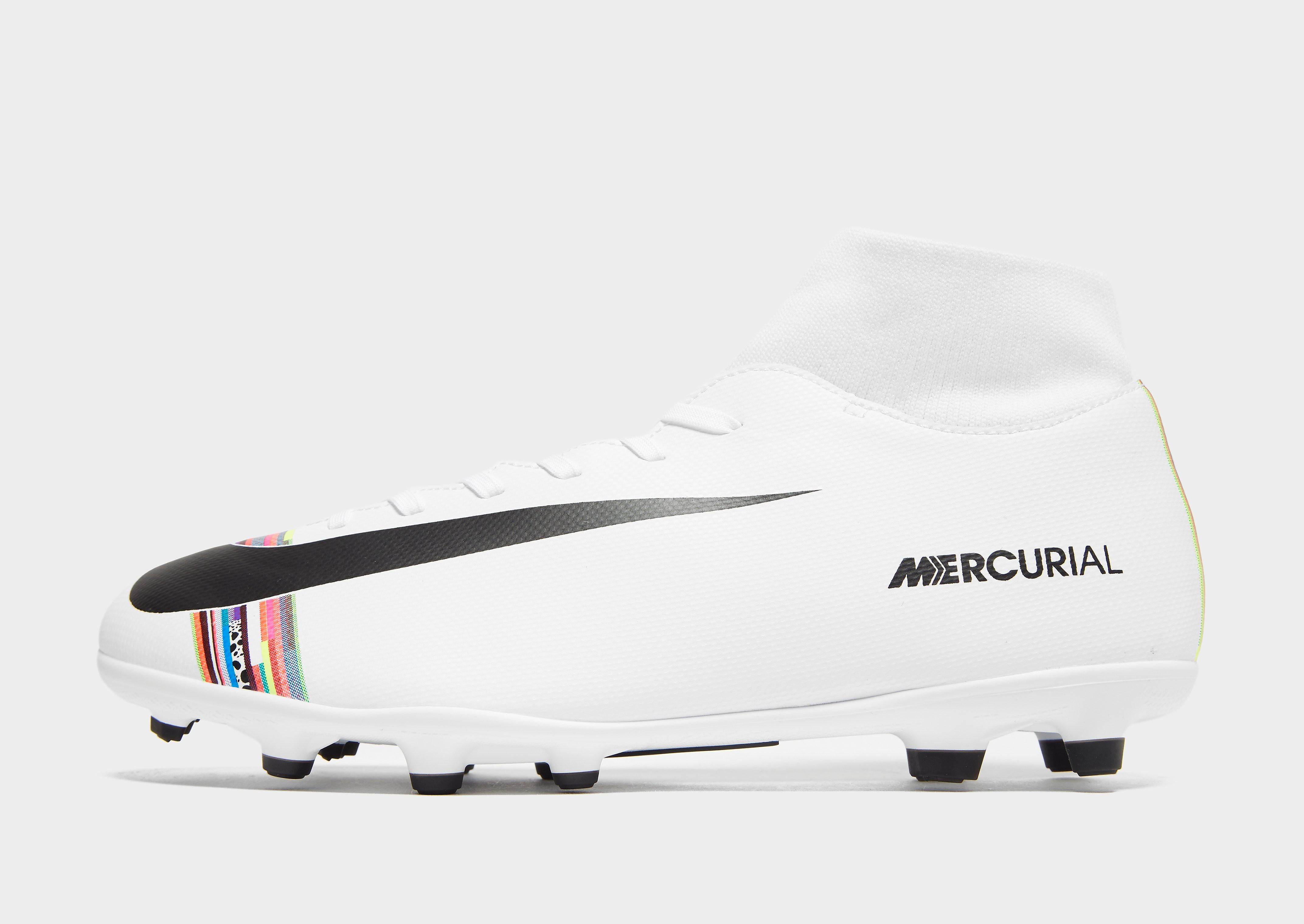 new style 9e00e 50ad4 Bild på Nike LVL Up Mercurial Superfly 6 Club FG Herr, Vit