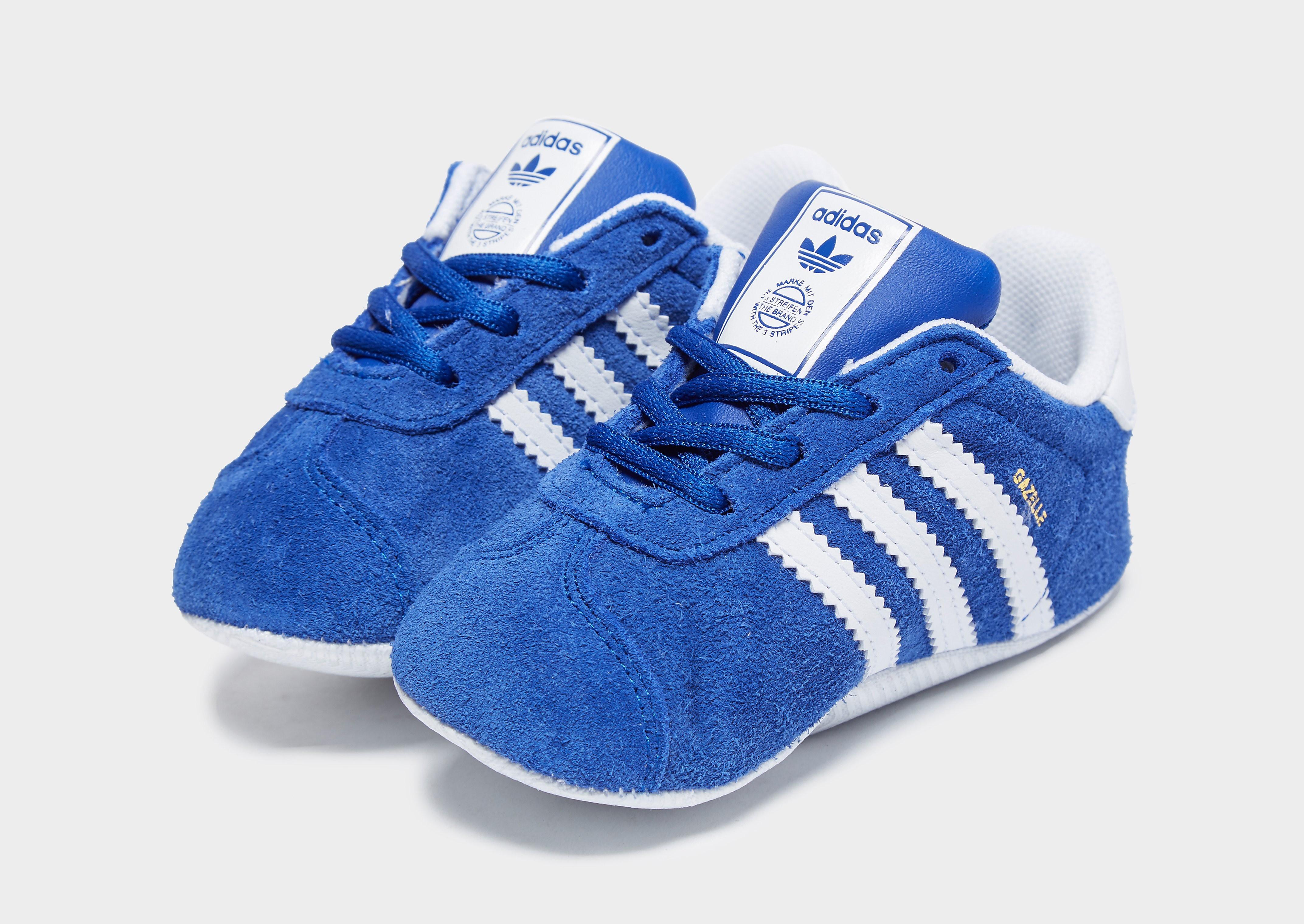 Adidas Gazelle babysneaker blauw