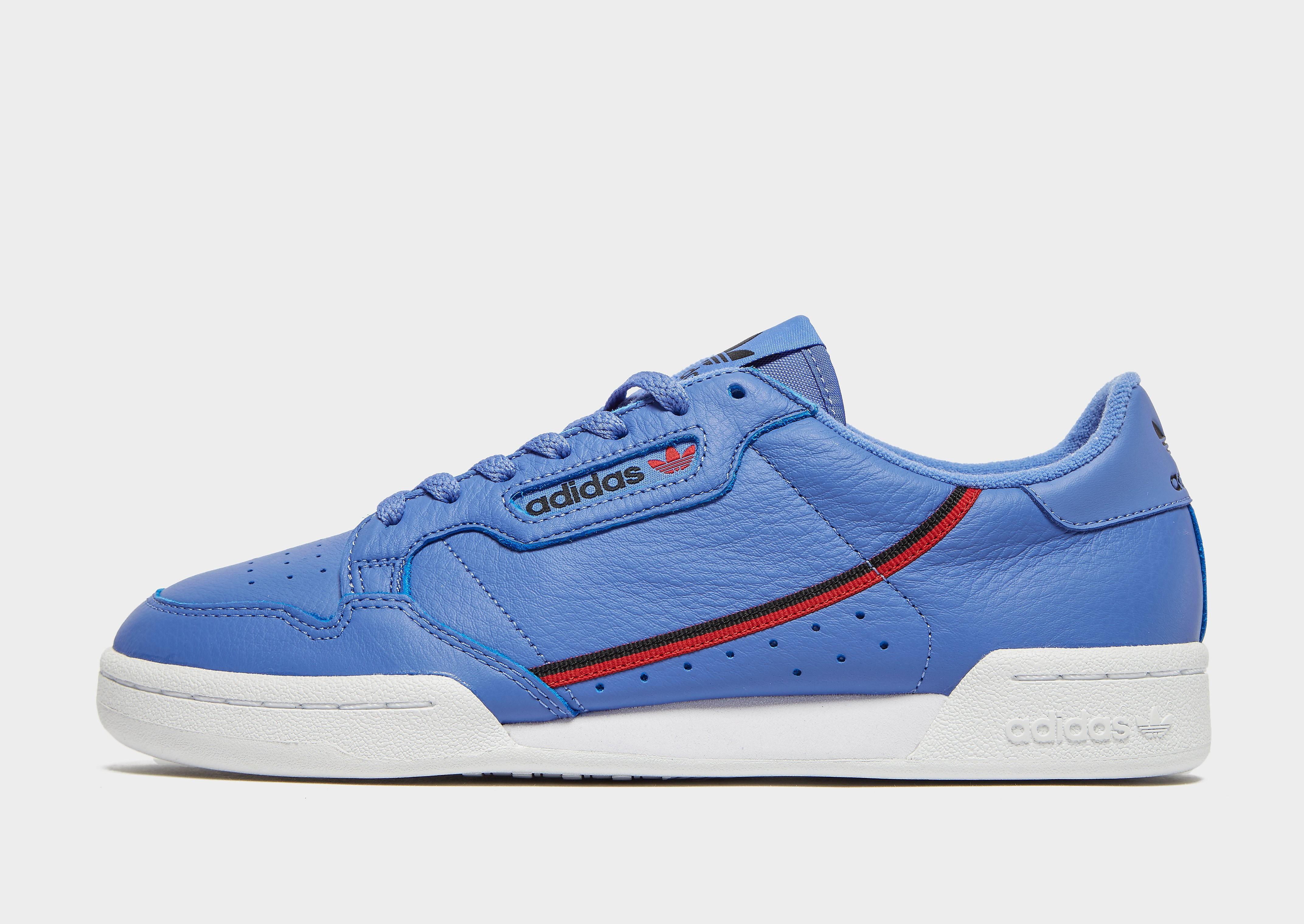 Adidas Continental 80 herensneaker paars en blauw