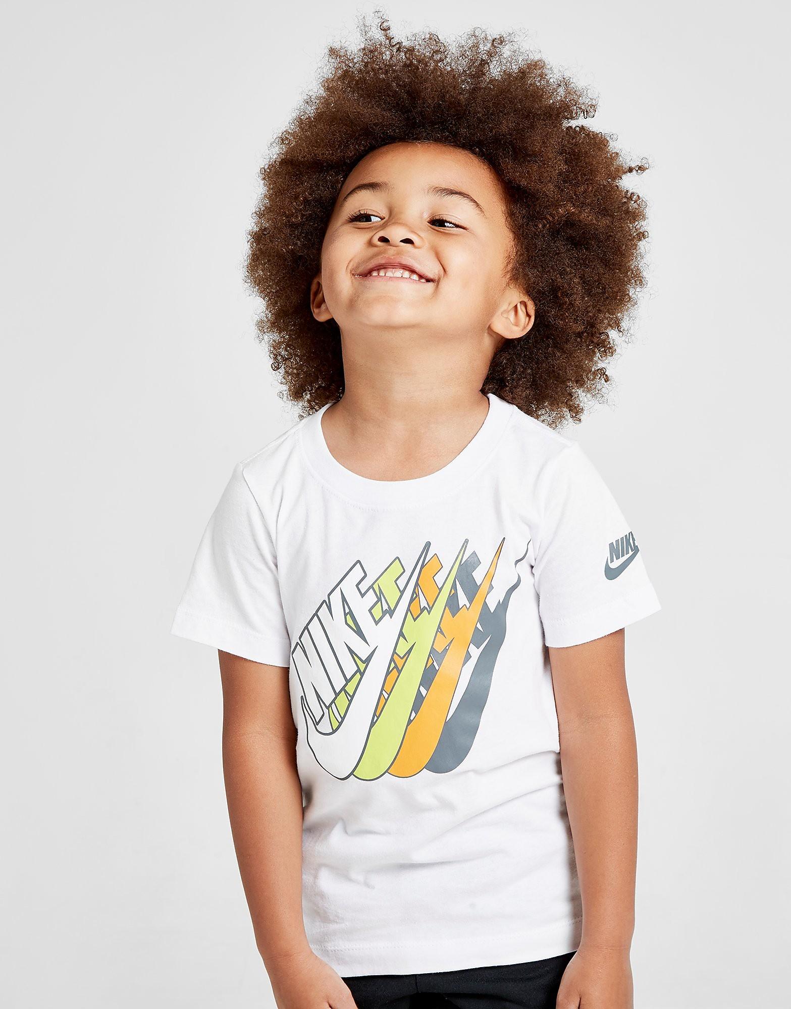 Nike Futura Repeat T-Shirt Kinderen - Wit - Kind