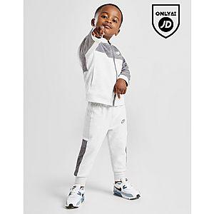 1e8bf62f757f2b Nike Advance Full Zip Colour Block Tracksuit Infant ...