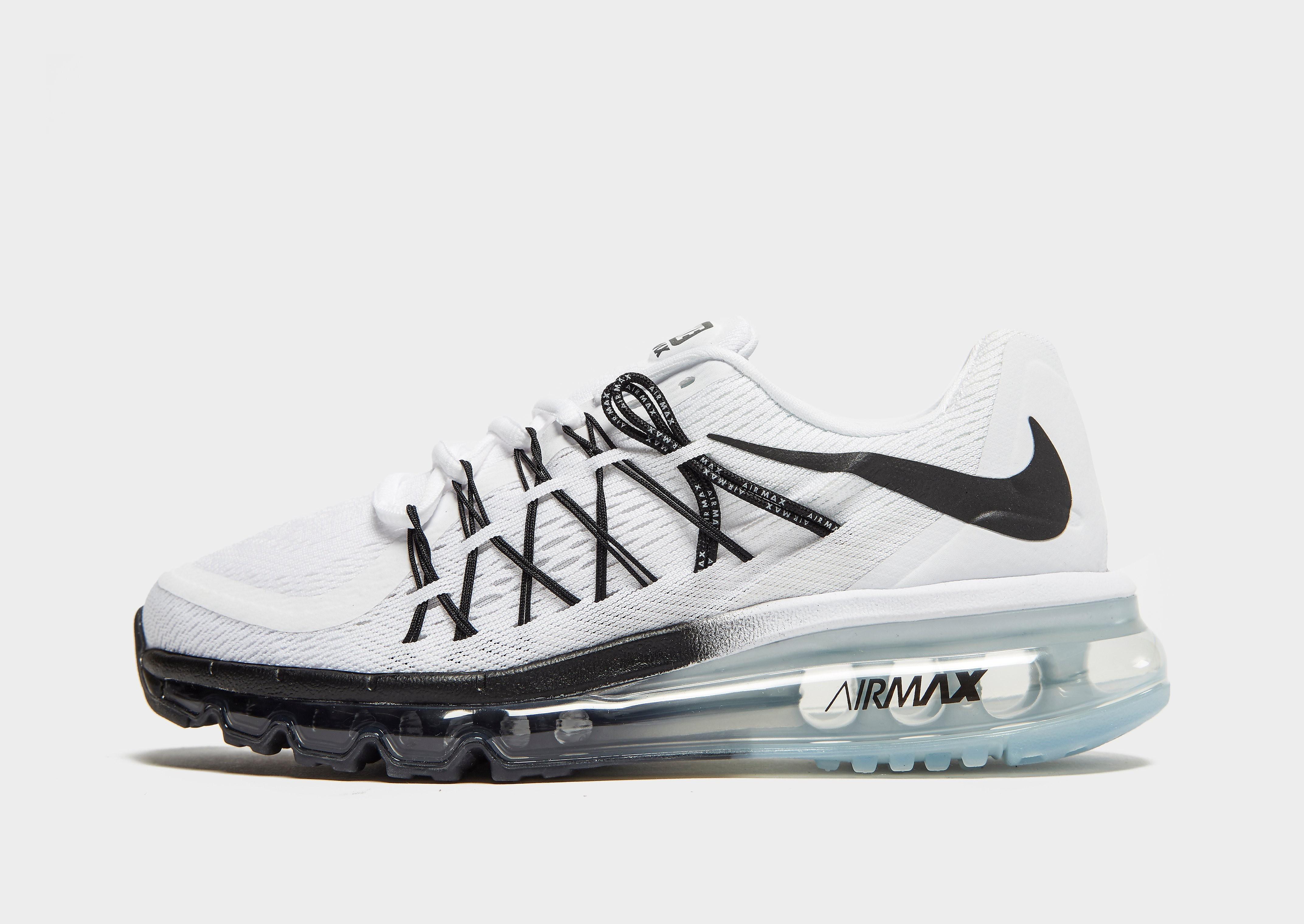 Nike Air Max 2015 kindersneaker wit en zwart