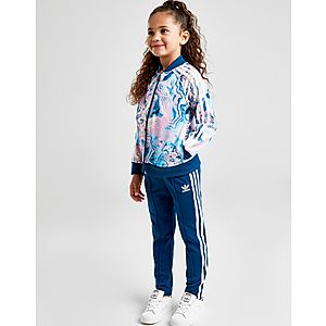 acadb0f2ada adidas Originals Girls  Marble Superstar Tracksuit Children ...