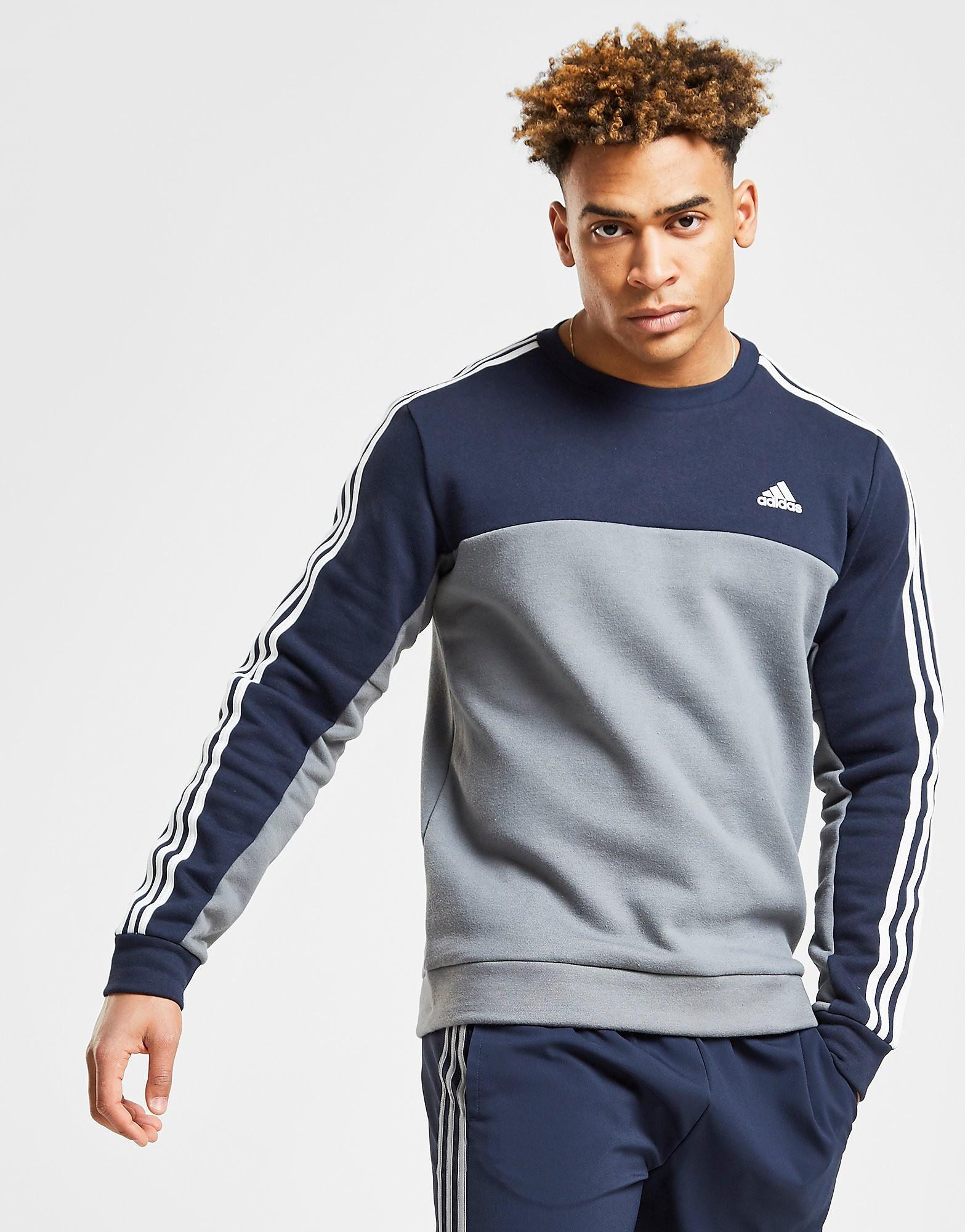 adidas Essentials Crew Sweatshirt Heren Grijs Heren