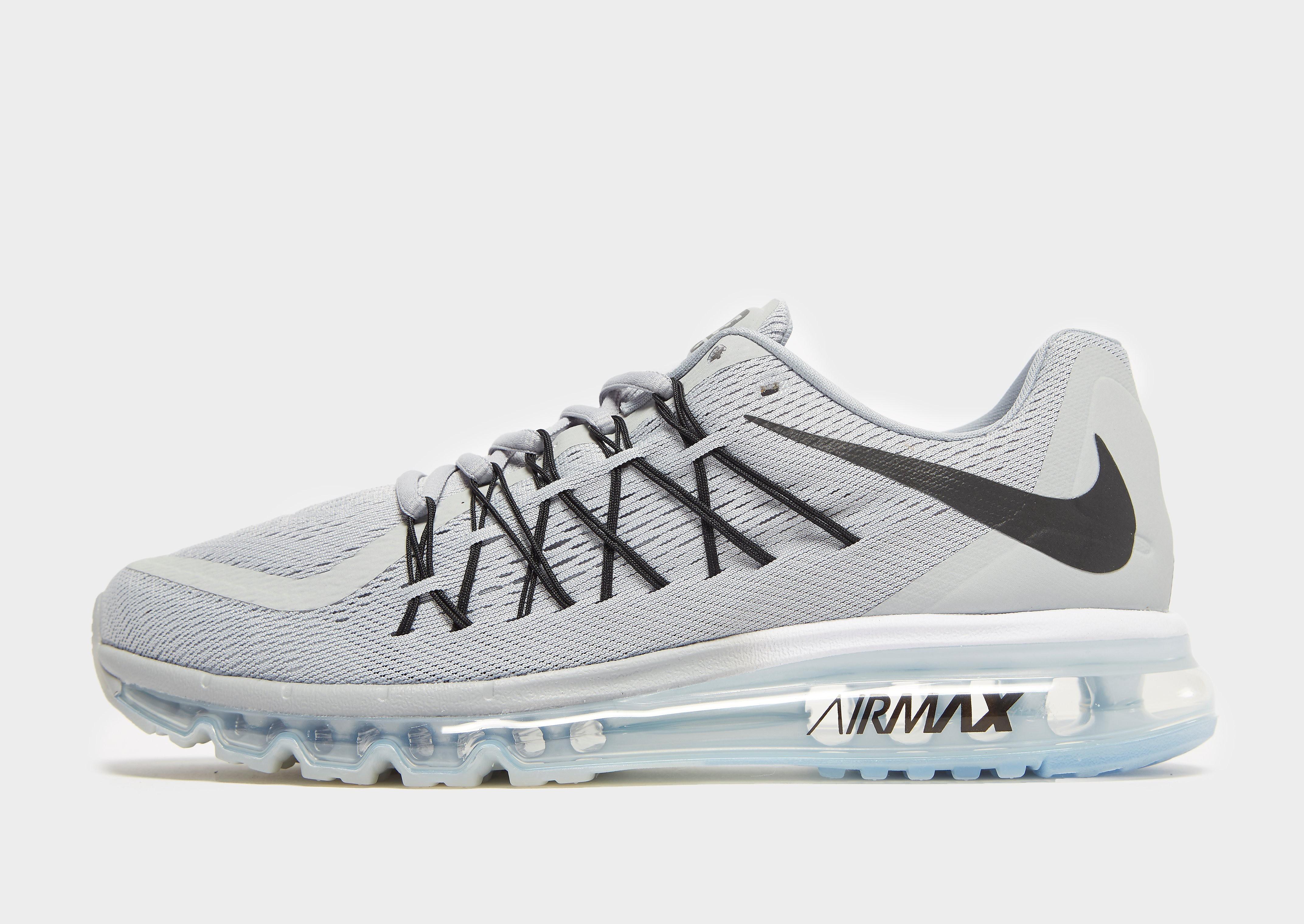 Nike Air Max 2015 herensneaker zwart en grijs