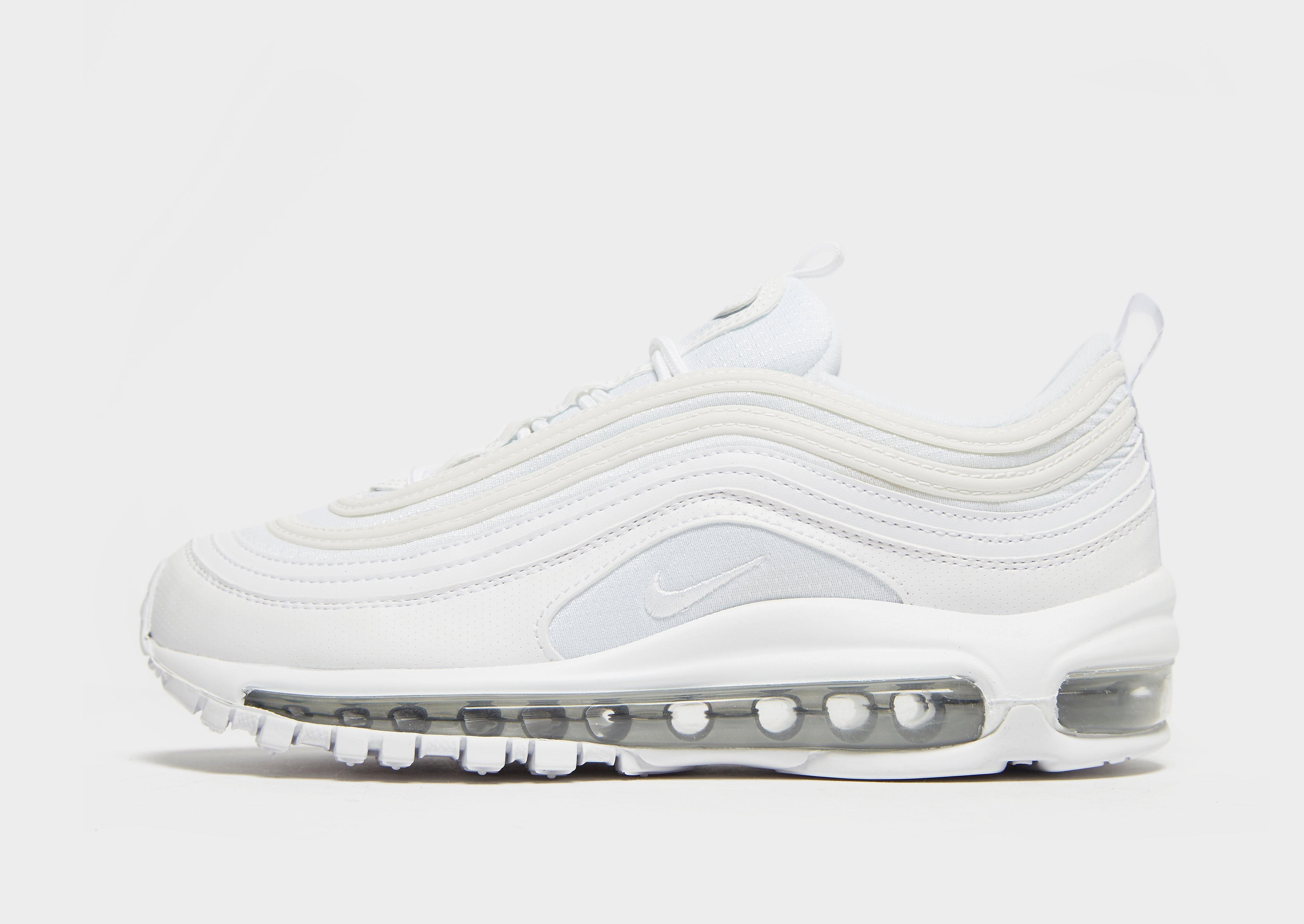 Nike Air Max 97 kindersneaker wit en zilver