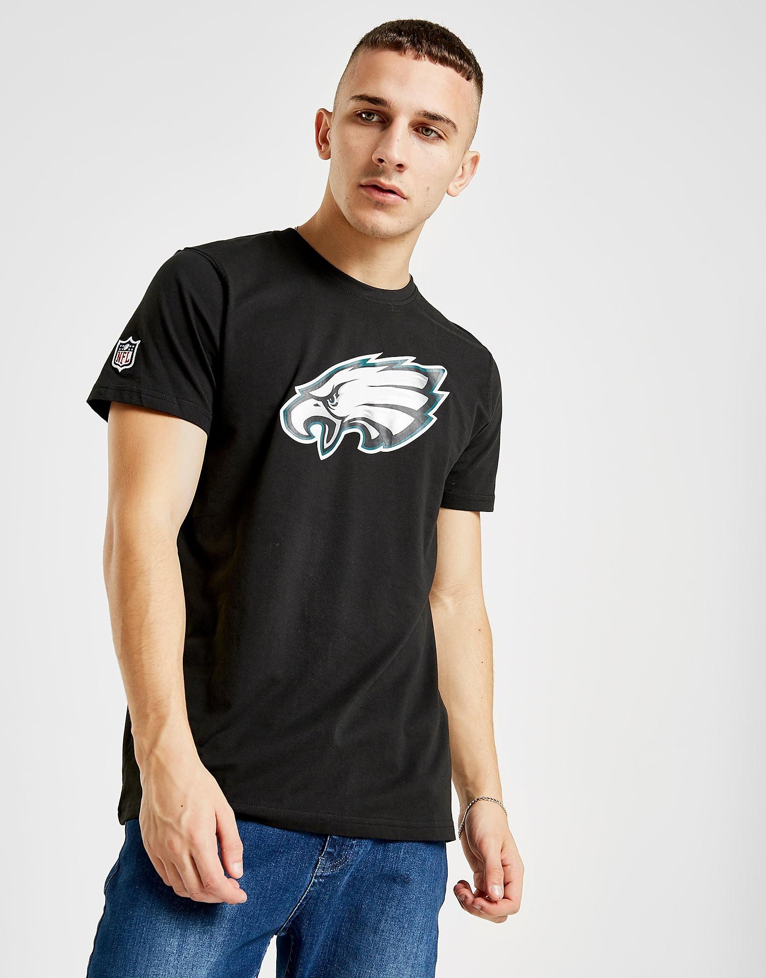 New Era NFL Philadelphia Eagles T-Shirt Heren - Zwart - Heren