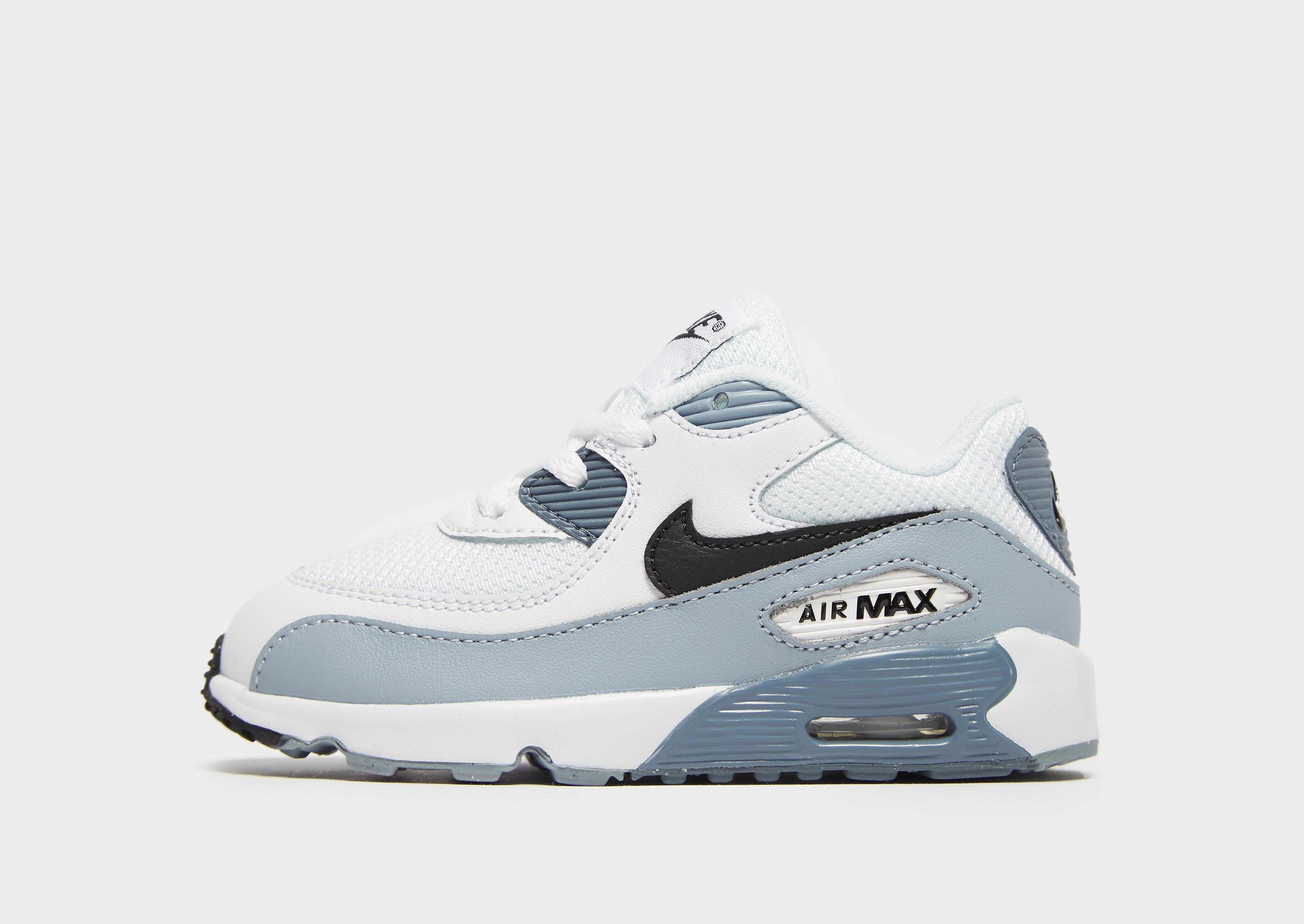 Nike Air Max 90 kindersneaker wit, zwart en grijs