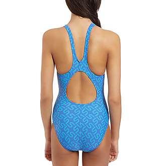 Speedo Monogram All Over Print Swimsuit