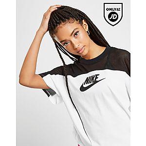 6f494135b44 Nike Colour Block Mesh T-Shirt ...