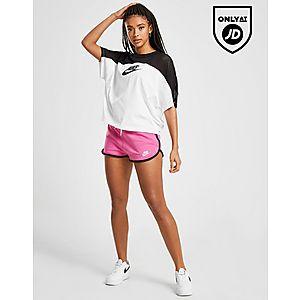 a10c041ccff93 ... Nike Colour Block Mesh T-Shirt