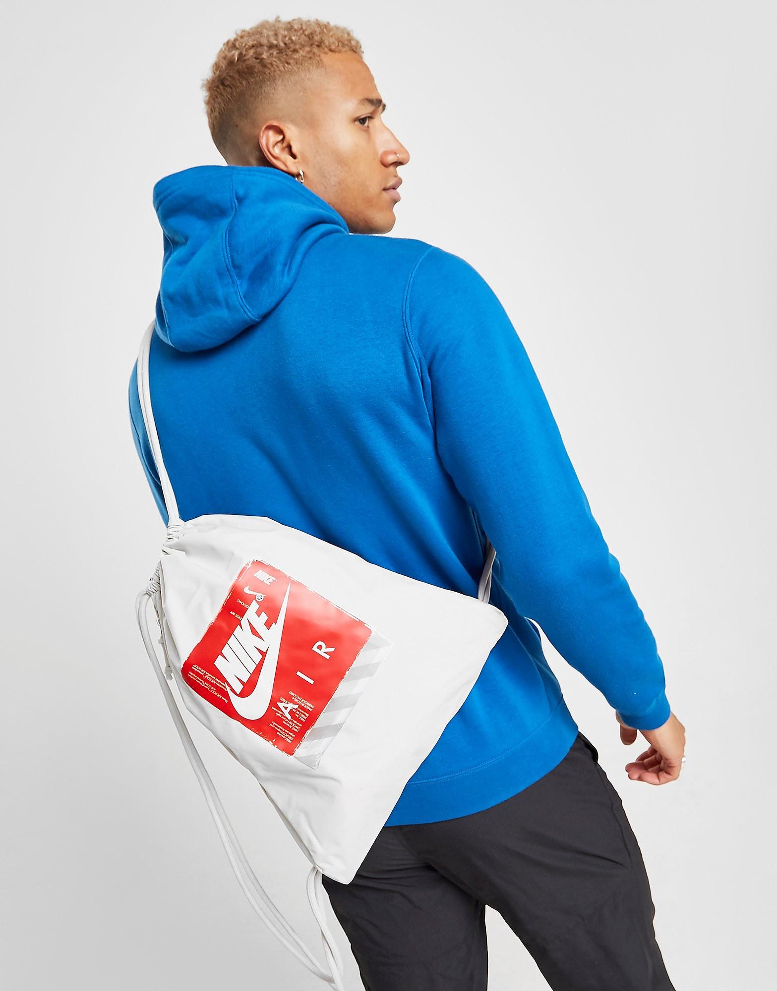 Nike gymtas rood en wit