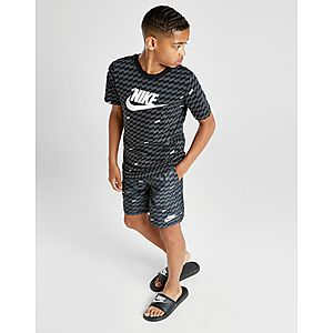 6254ea8edc38 ... Nike Hybrid All Over Print Woven Swim Shorts Junior