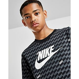 54596dc6a624 ... Nike Hybrid All Over Print T-Shirt Junior Quick View ...