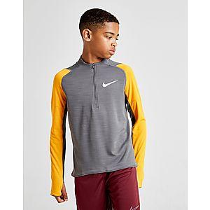 innovative design add04 218d9 Nike Dri-FIT Long Sleeve 1 2 Zip Top Junior ...