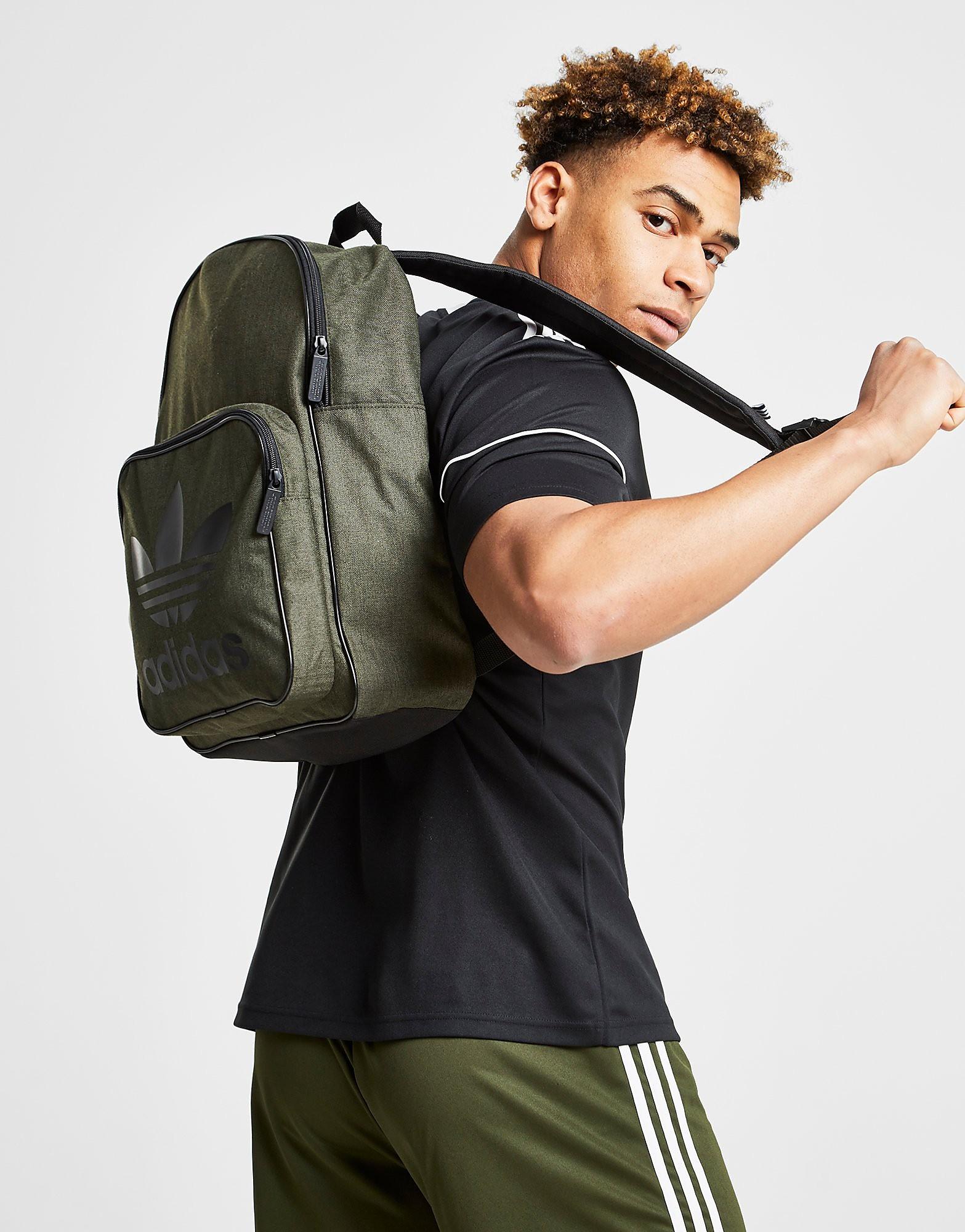 Adidas rugzak zwart, groen en khaki