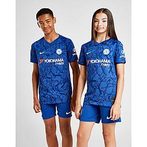 657d27c17 NIKE Chelsea FC 2019 20 Vapor Match Home Older Kids  Football Shirt ...