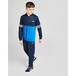 1878c33c adidas Performance Colour Block Poly Tracksuit Junior ...