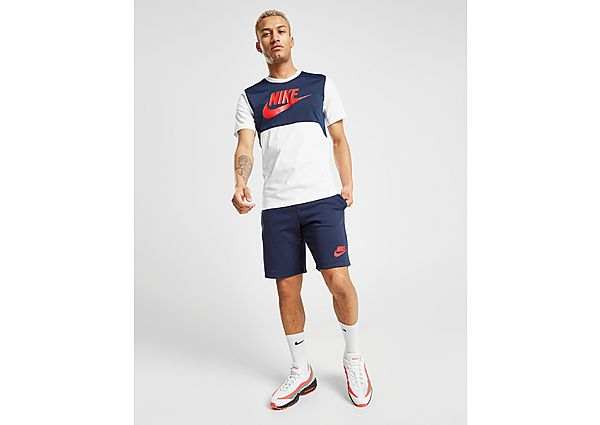 Nike Hybrid Fleece Shorts Heren - Red - Heren