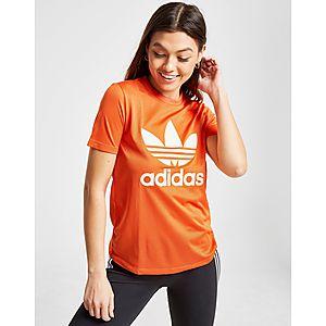 adidas Originals Trefoil Flock T-Shirt ... b754a90b233