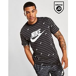 Nike Hybrid All Over Print T-Shirt ... d2aa4dce48