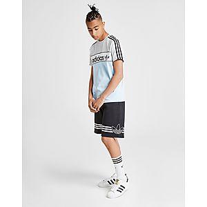 95956418cdb38 adidas Originals Spirit Fleece Shorts Junior adidas Originals Spirit Fleece  Shorts Junior
