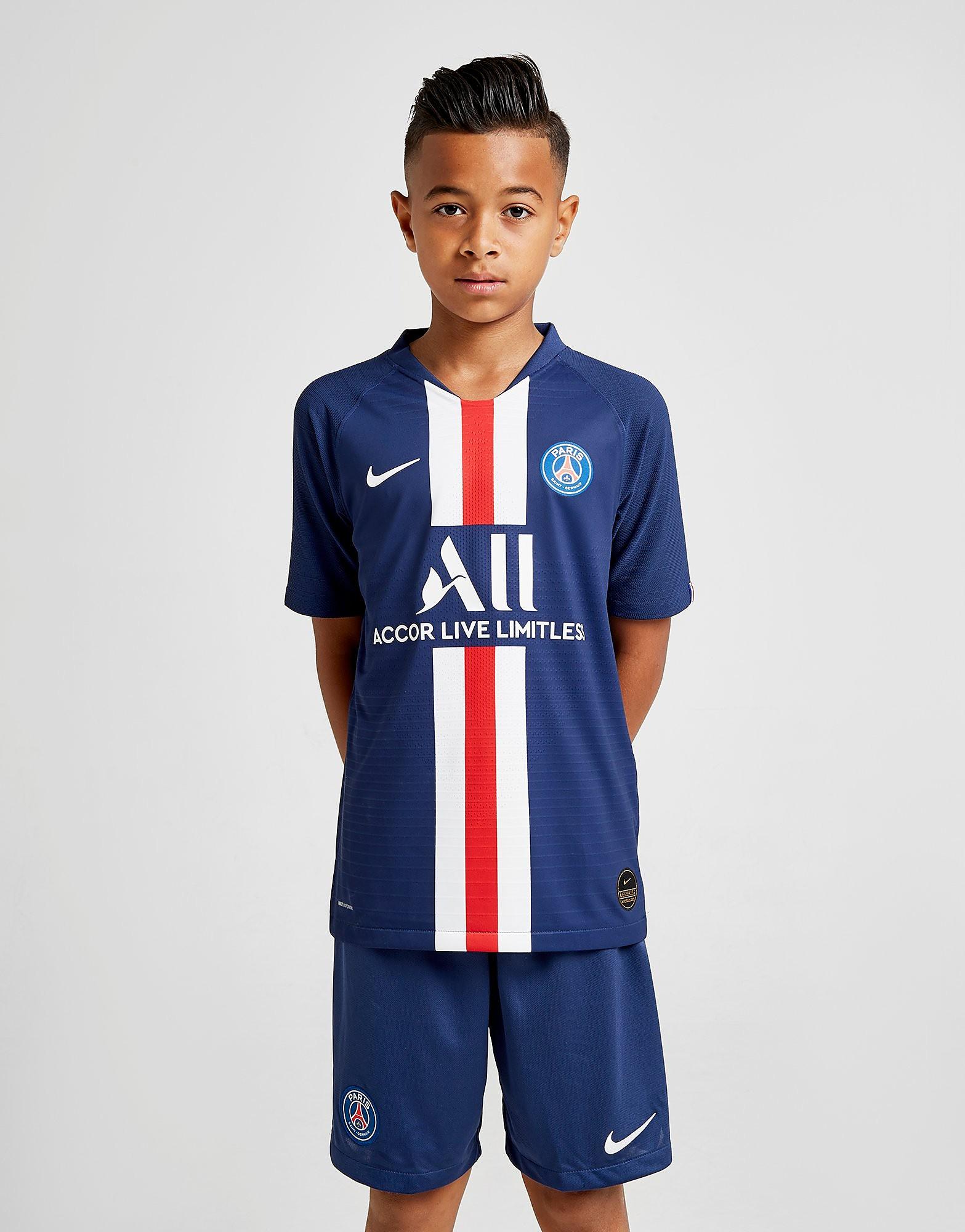 Nike Paris Saint Germain Vapor Home Shirt Jnr Blauw Kind