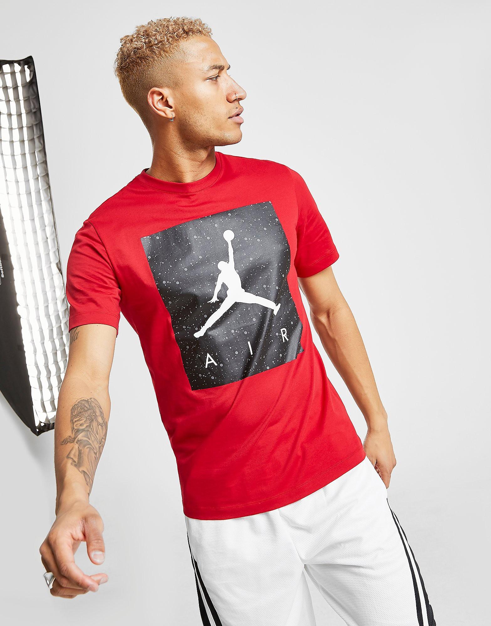 Jordan Pool T-Shirt Heren - Rood - Heren