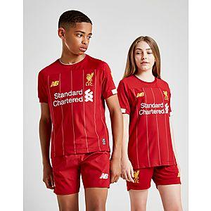 2b124a0ddd85 New Balance Liverpool FC 2019 Home Shorts Junior PRE ORDER ...