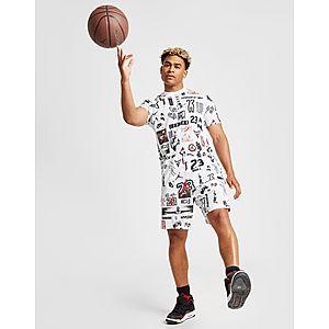 e7645e453f34dc ... Jordan All Over Print Mesh T-Shirt
