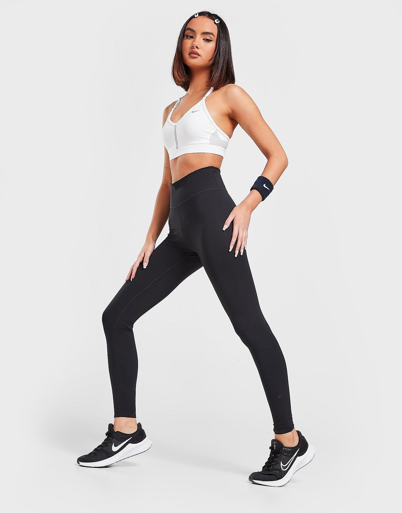 Nike Training One Tights Dames Zwart Dames Zwart