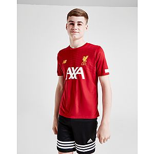 1dd7ef1fa New Balance Liverpool FC Pre Match Shirt Junior ...