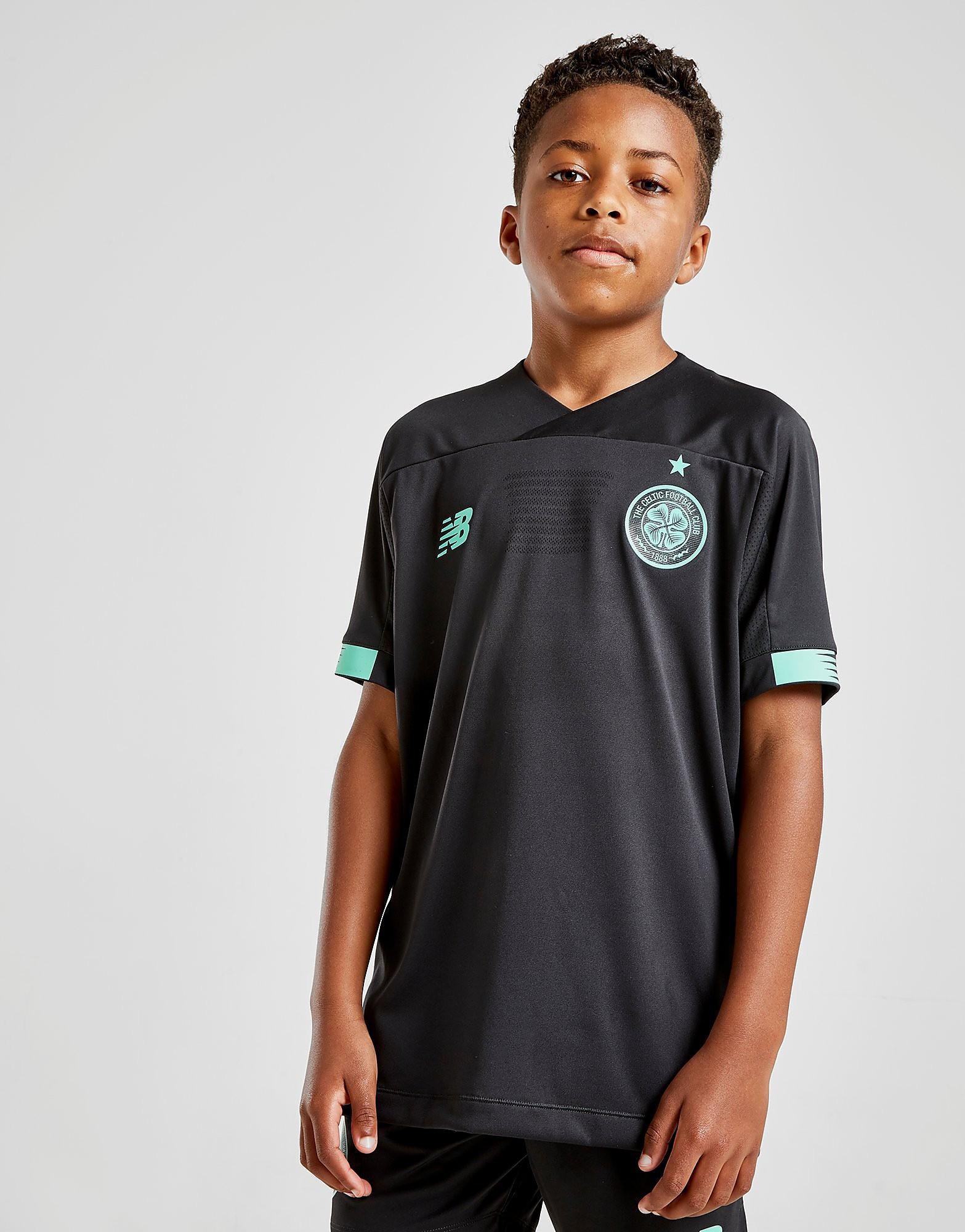 New Balance Celtic FC 2019 Home Goalkeeper Shirt Junior Zwart Kind