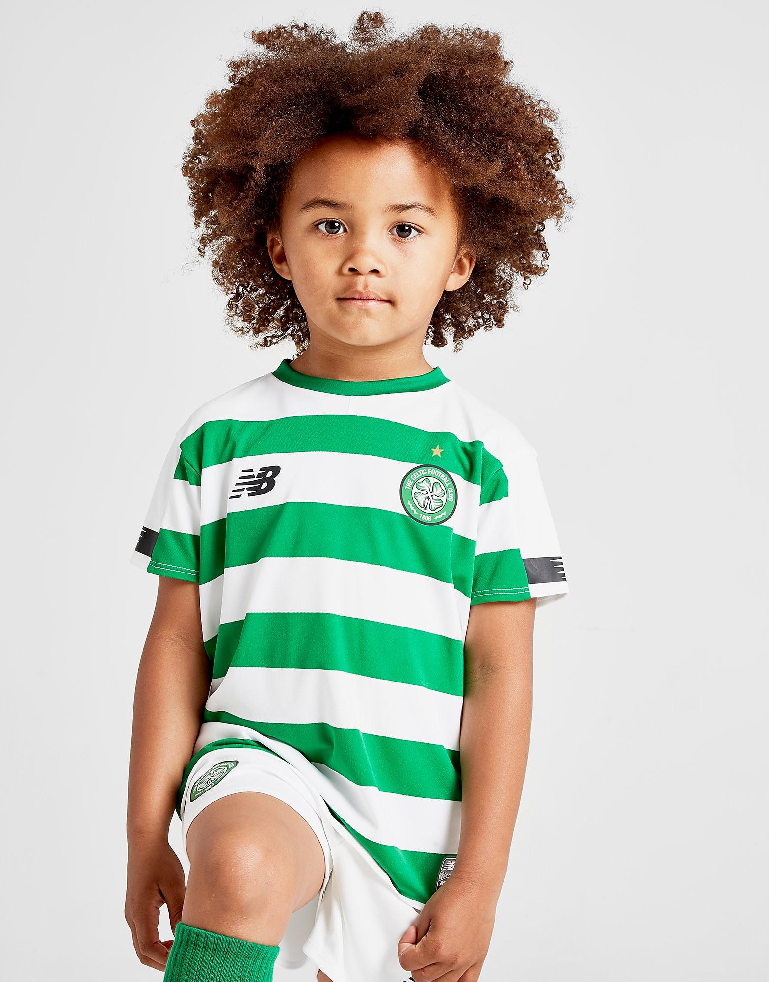 New Balance Celtic FC 2019 Home Kit Kinderen Groen Kind