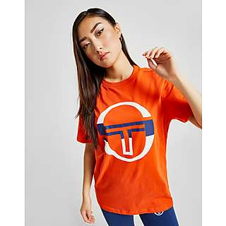 60aa5e01 Sergio Tacchini Logo Boyfriend T-Shirt