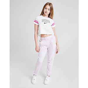 hot sale online 96a56 32793 Nike Girls  Sporty Crop T-Shirt Junior ...