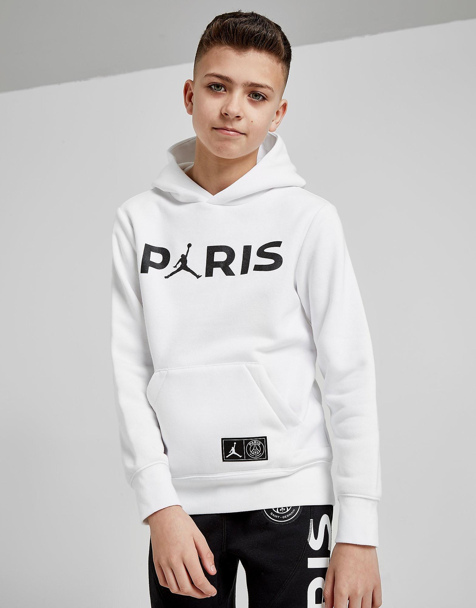 Jordan x Paris Saint Germain Hoodie Junior - Wit - Kind