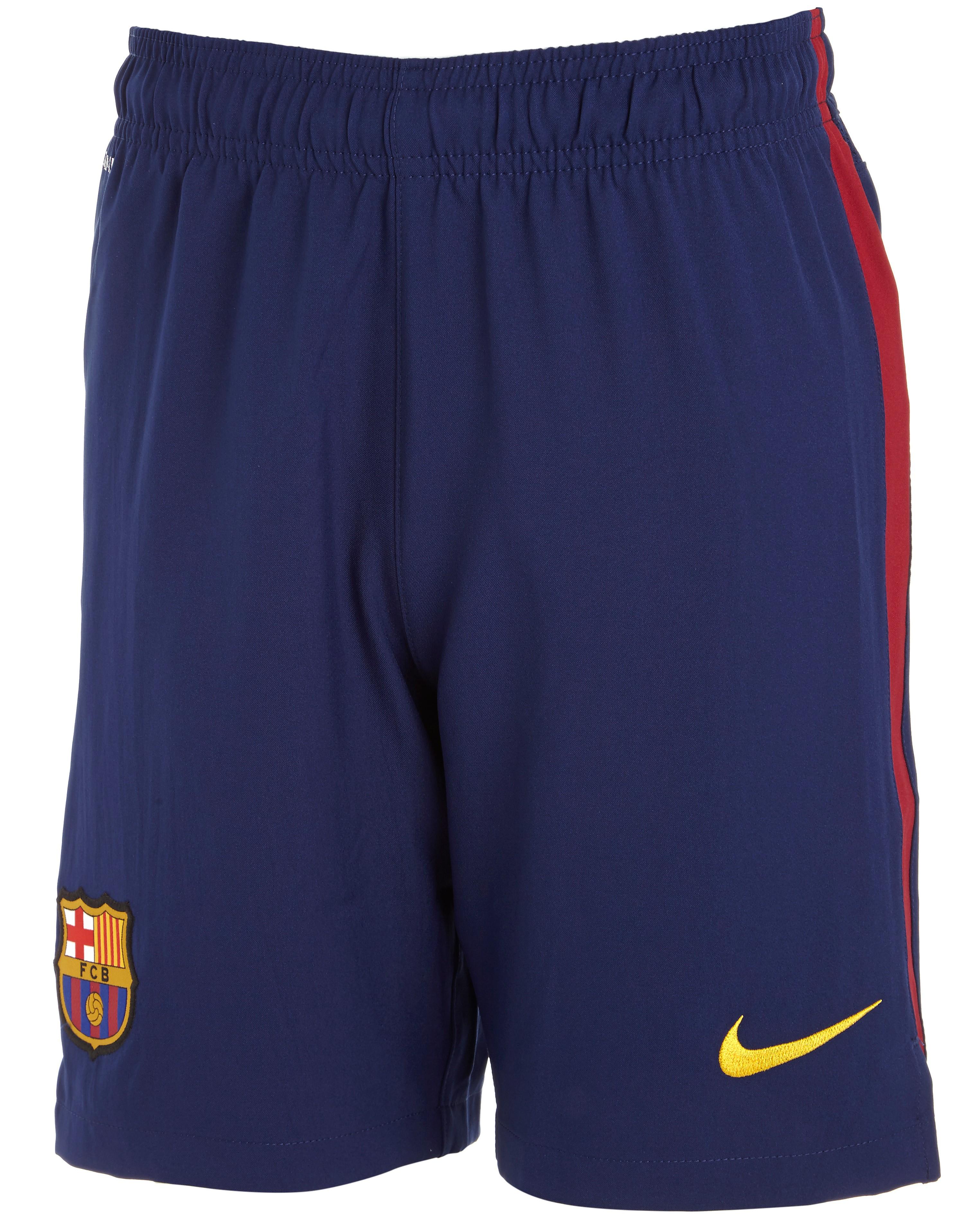 Nike Barcelona 2014 Junior Home Shorts